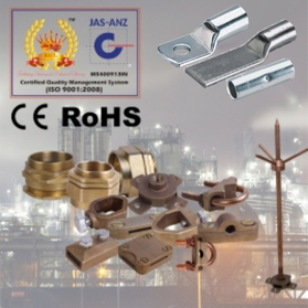 Cable Lugs, Cable Glands, Earthing And Lightning Protection, Systems, Equipments, Copper bonded earthing rods, manufacturer, manufacturers, exporter, exporters, supplier, suppliers, india, duabi, uae, singapore, malaysia